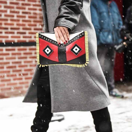 Street Style Alert! Bags From NYFW