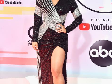 Bebe Rexha in Balmain American Music Awards