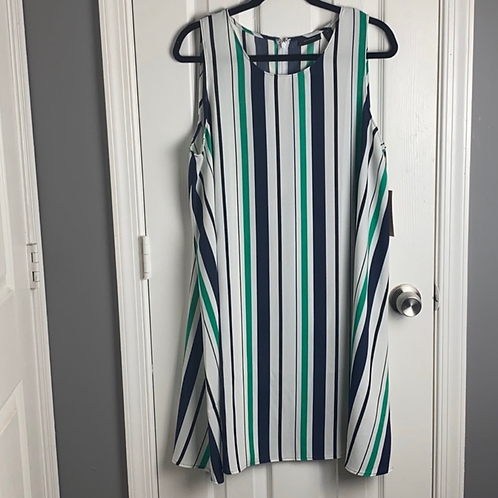 Halogen Striped Dress