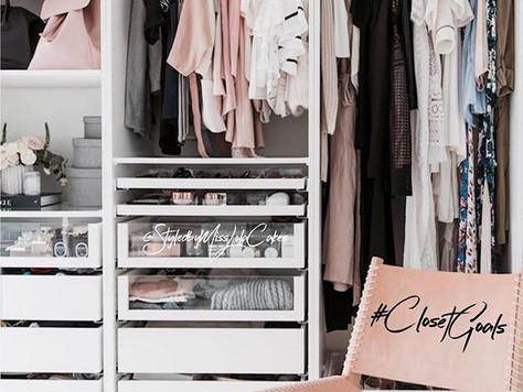 6 Tips to get to Closet Goals