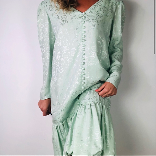 Vintage Mint Green Dress