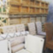 Furniture Storage - Behind The Scenes