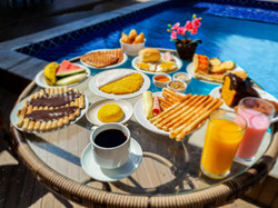 Café da manhã - Hotel Porto Dourado