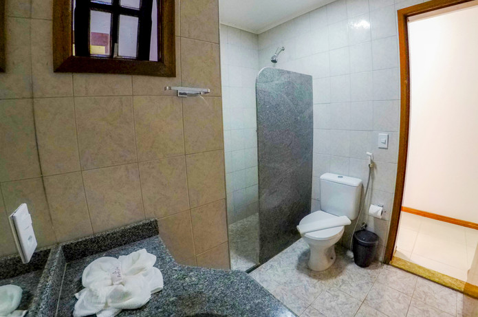 Bem Bahia Hotel - Banheiro - Rede Bem Bahia