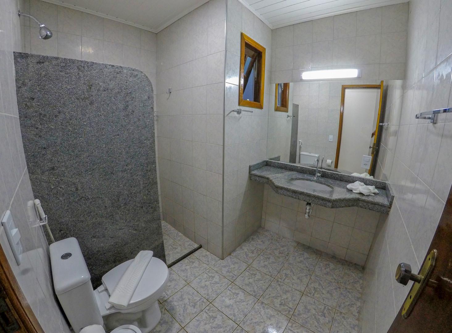 Banheiro - Bem Bahia Hotel