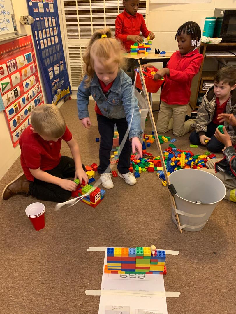 Kindergarten Wrecking Ball Challenge