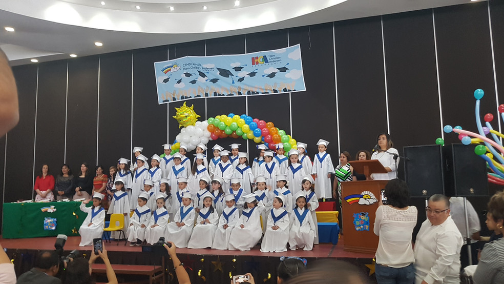 graduación preescolar