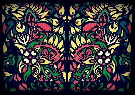 Fawn Forlorn Composite Papercut