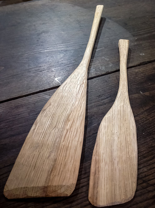 Cleft oak spatulas  55cm and 37cm  £10 and £6 ( plus £3 postage)