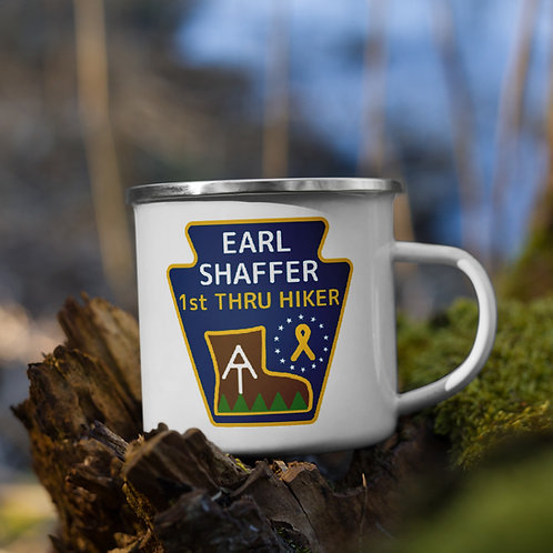 Earl Shaffer Foundation Enamel Mug