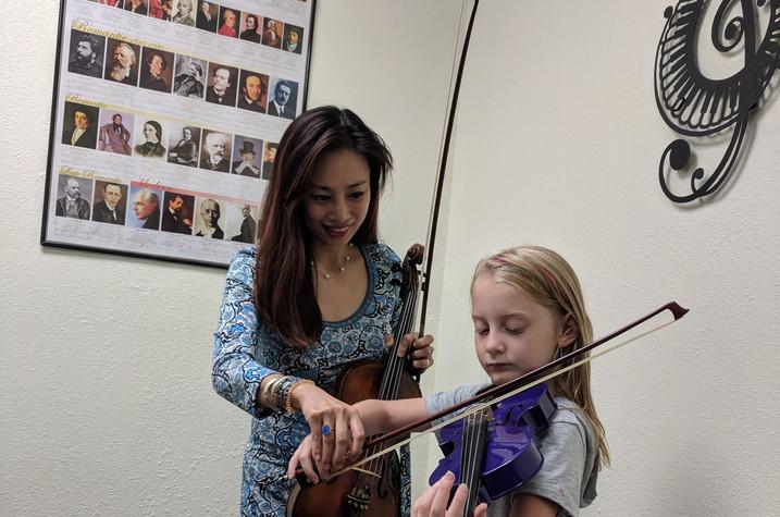 Viola lesson