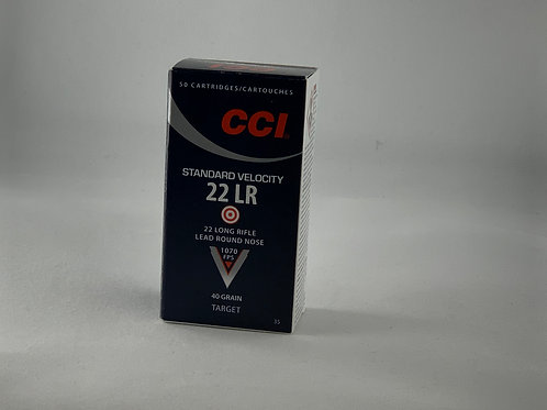 CCI Standard Velocity 22LR - Pack of 50