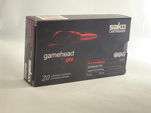 Sako Gamehead Pro 6.5 Creedmoor - Pack of 20