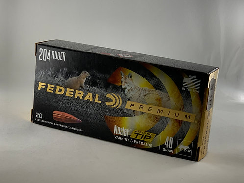 Federal Nosler BT 204 - Pack of 20