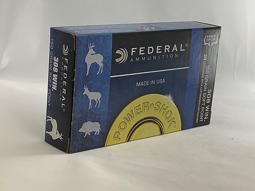 Federal Power Shok 308 - Pack of 20