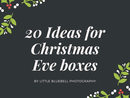 20 ideas for Christmas Eve Boxes