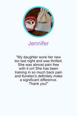 Testimonial Jennifer