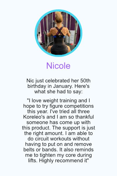 Testimonial Nicole