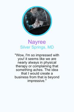 Testimonial Nayree