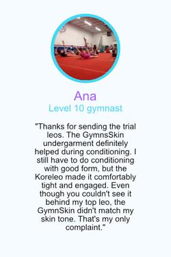 Testimonial Ana
