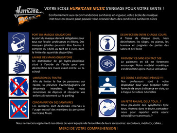 Hurricane Music School: c'est reparti!