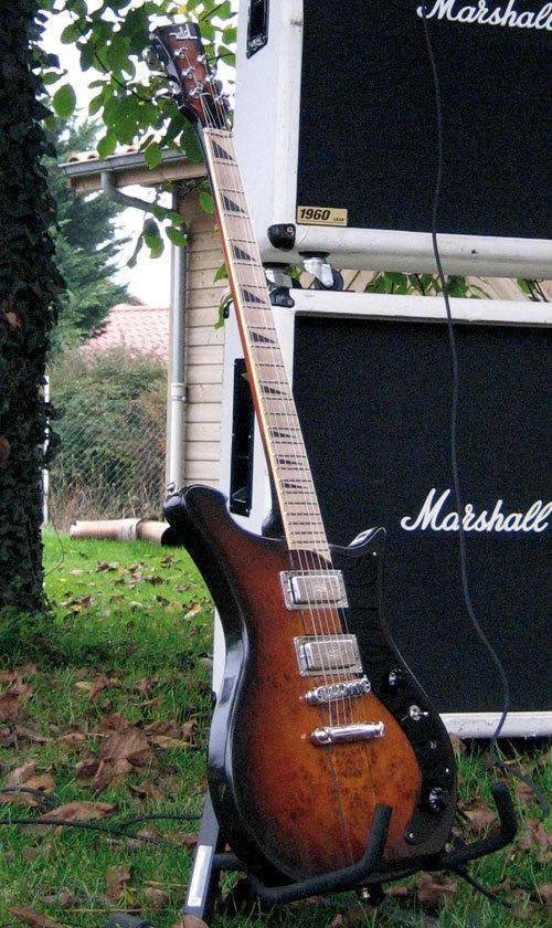 The 1st Wild Customs guitar