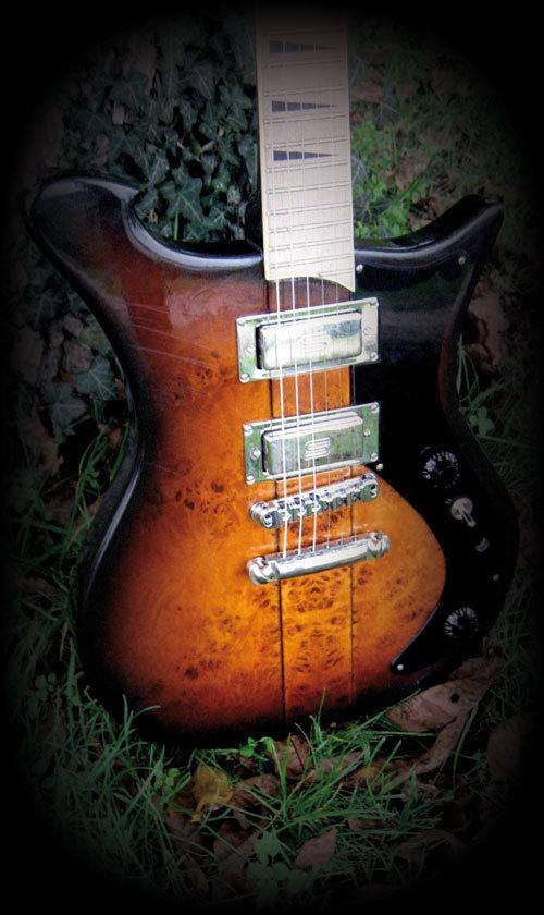 The 1st Wild Customs guitar