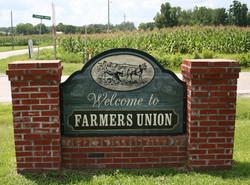 Farmers Union sign