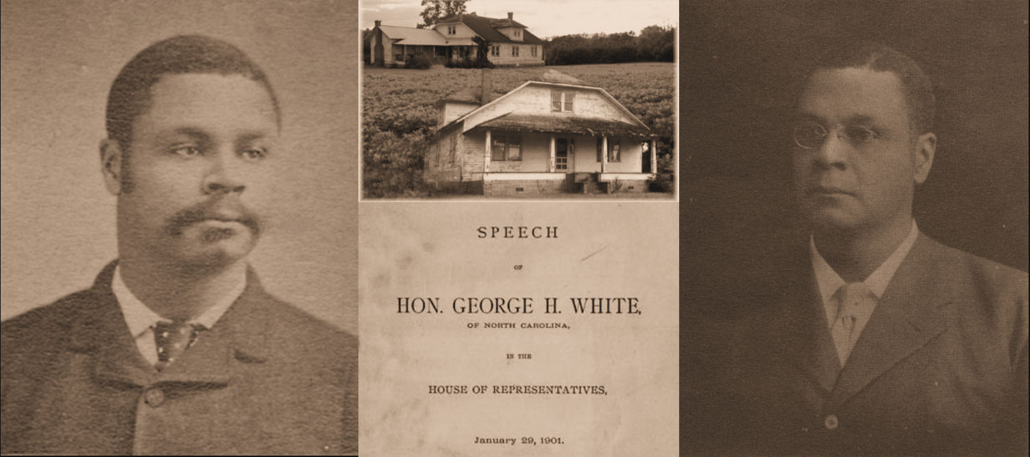 'George Henry White - Legacy Project and Memorial Center' banner