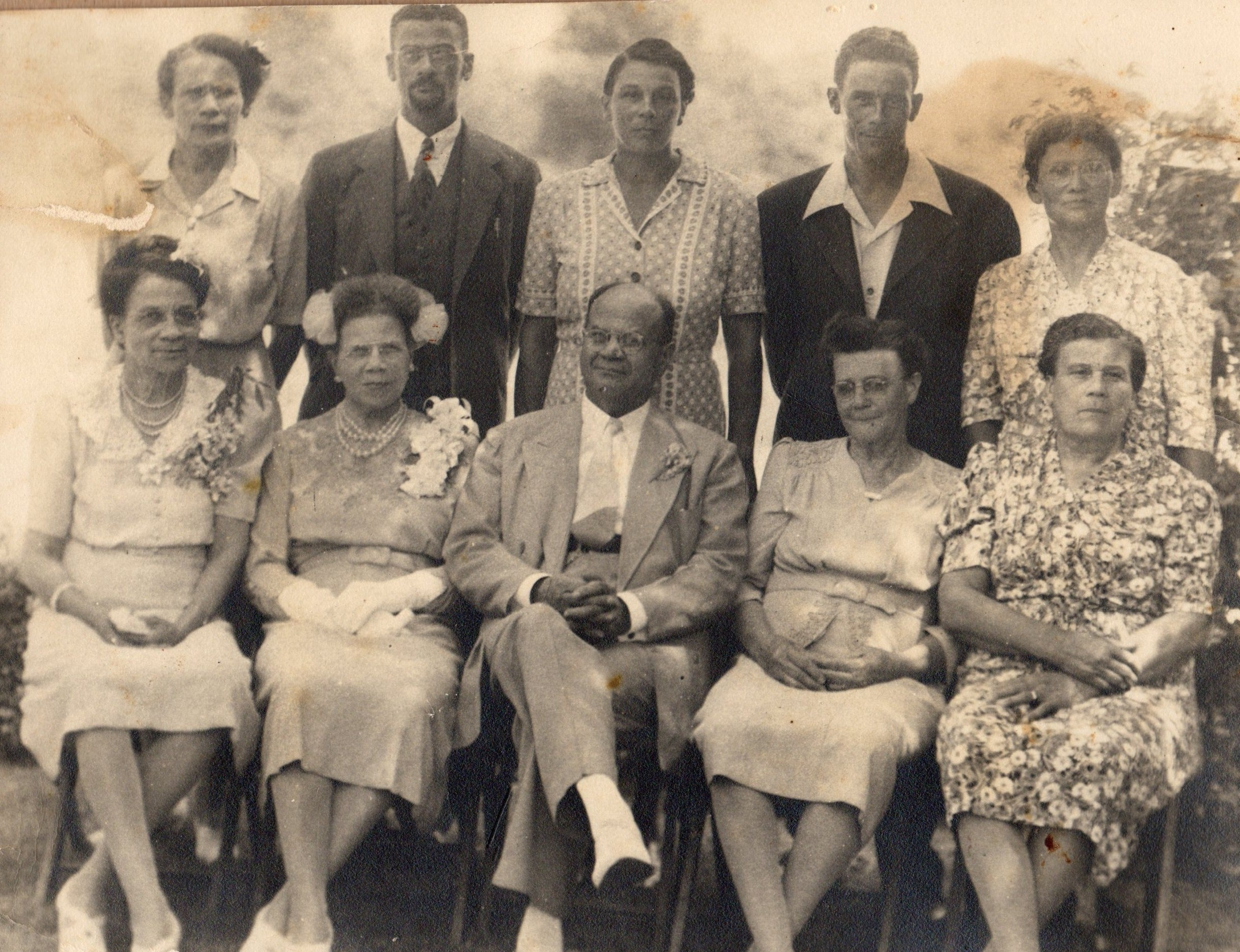 Children of Rev. D.J. Moore
