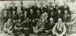 booker t washington entourage and officers of n