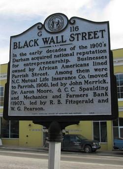 Durham Black Wall St