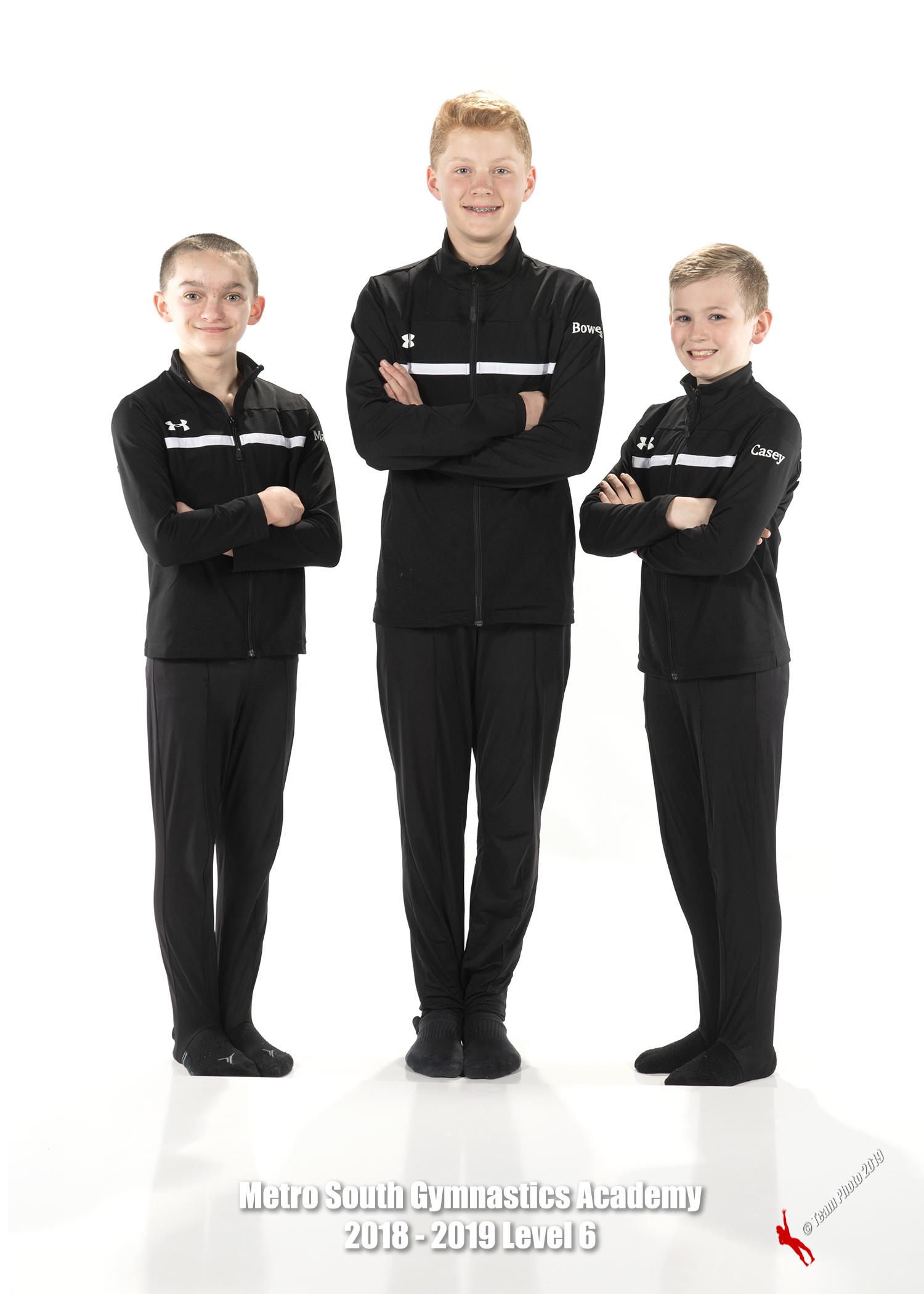 Boys JO Team ~ Level 6