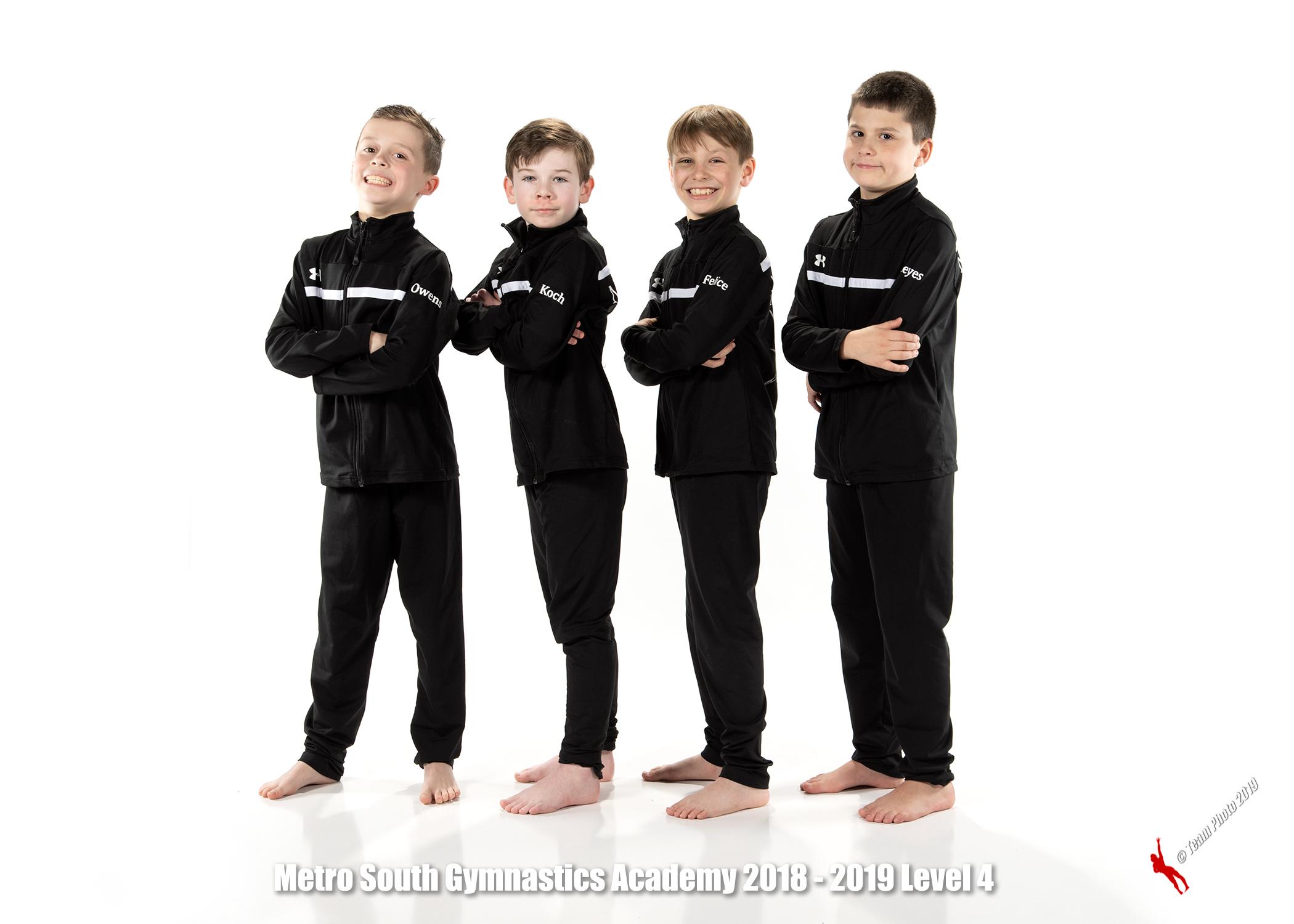 Boys JO Team ~ Level 4