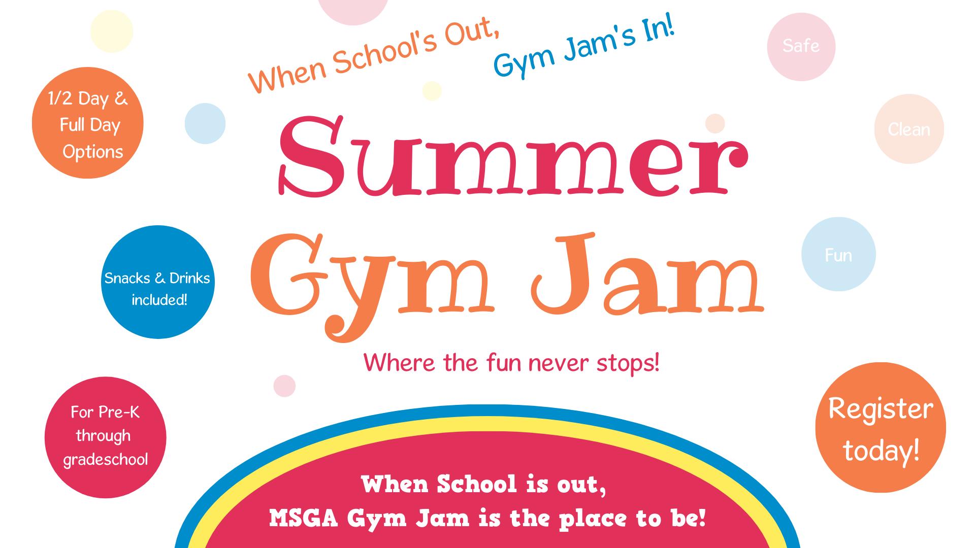Summer Gym Jam 2021
