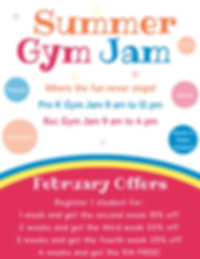 Summer Gym Jam