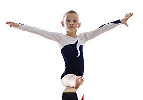 Girl, Balance Beam