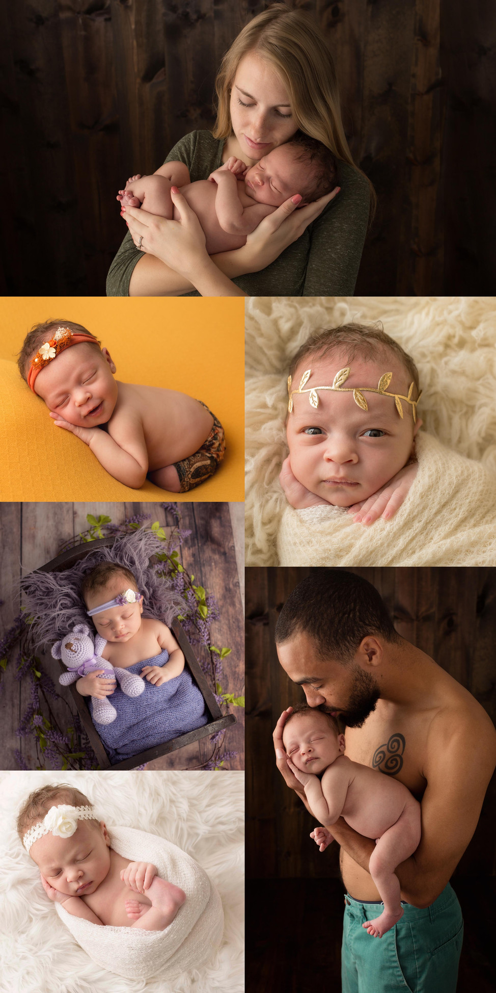 Newborn photographer session in Omaha Ne / Images by Christine M. Photography