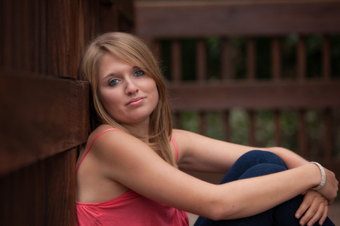 fall senior outdoor pictures