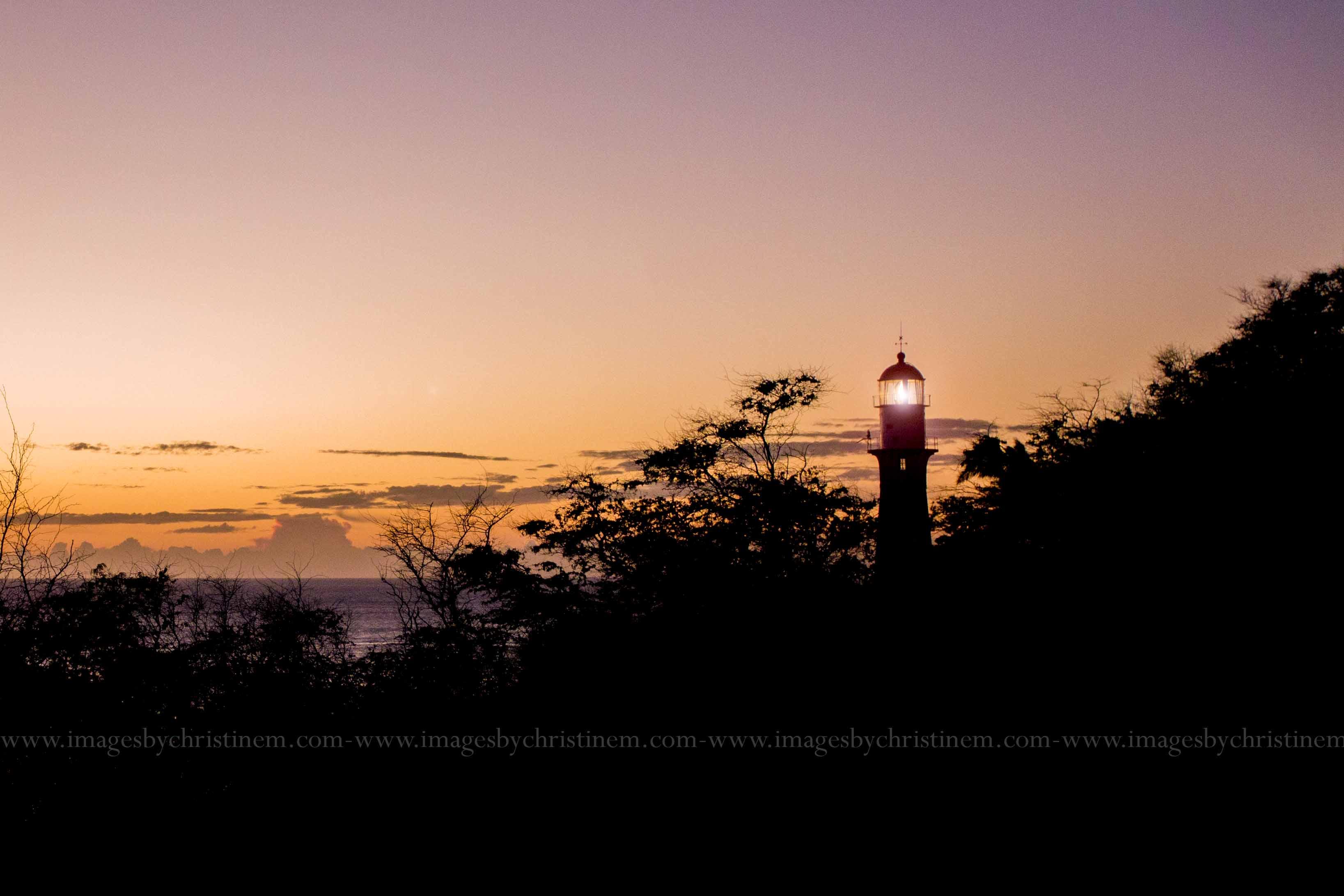 Lighthouse in Waikiki Hawaii