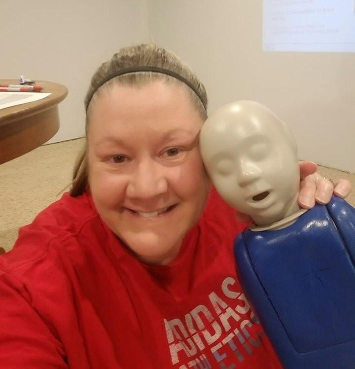 Cpr certification baby dummy