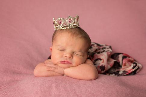 Newborn princess crown