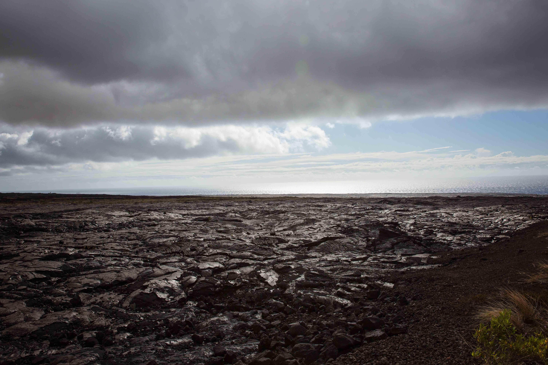 Volcanic lava Hawaii