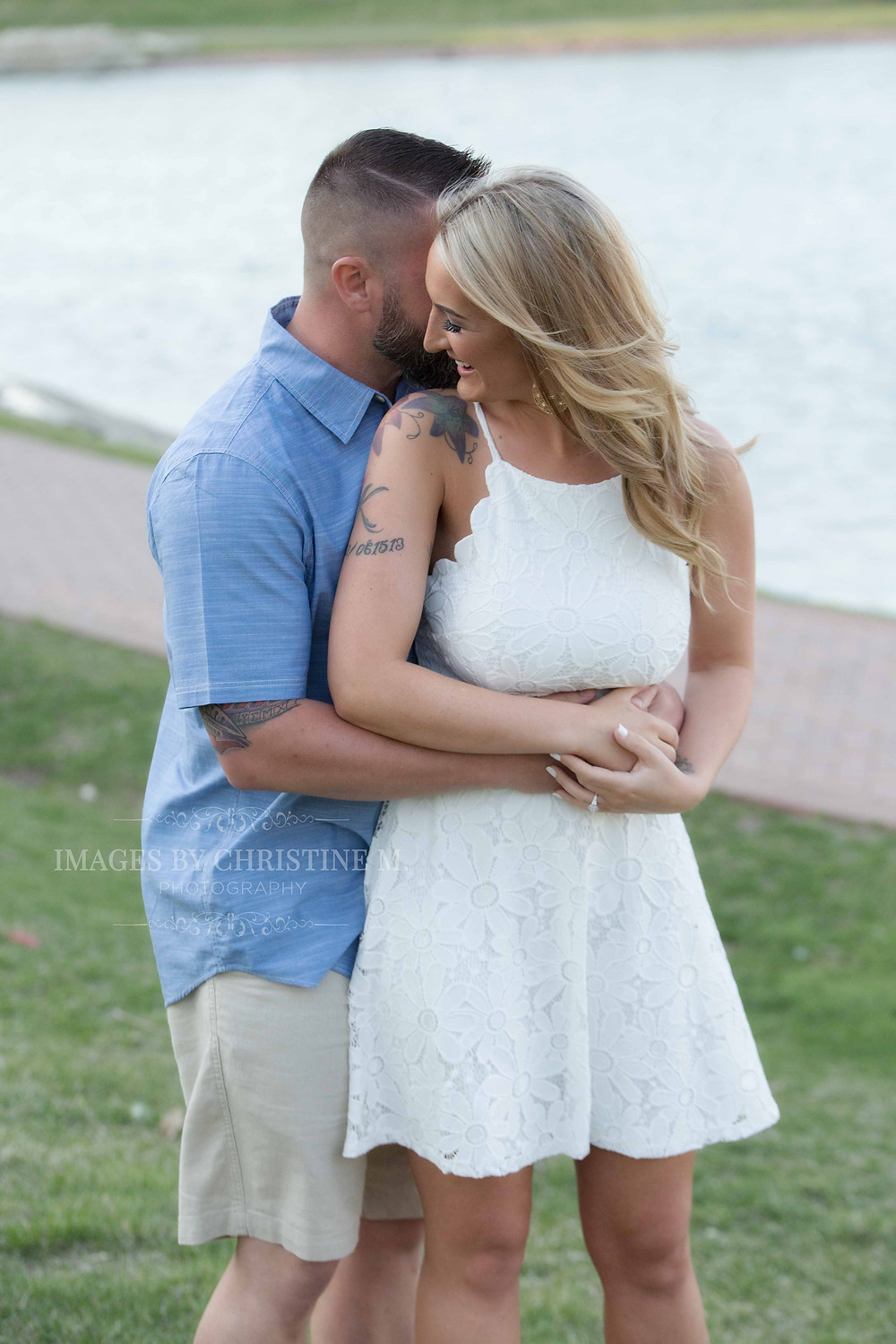 Playful engagment outdoor pictures