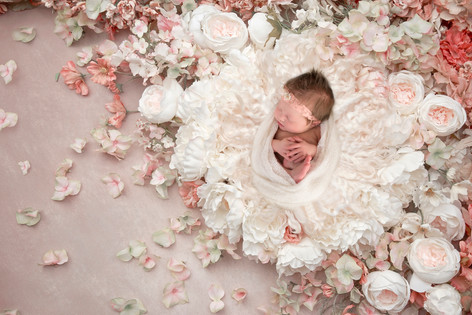 Images by Christine M. Photography Newborn