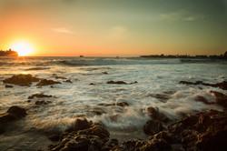 Silky ocean water hawaii