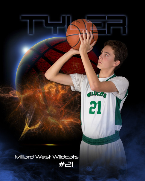 senior sports basketball pictures