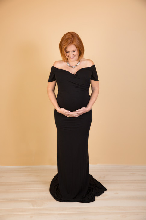 Omaha maternity gown pictures