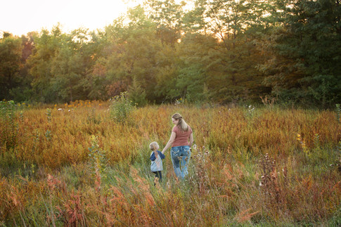 fall family mom and me sessions