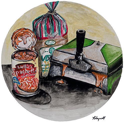 Toastie Night - Kirsty Meynell Unframed Print